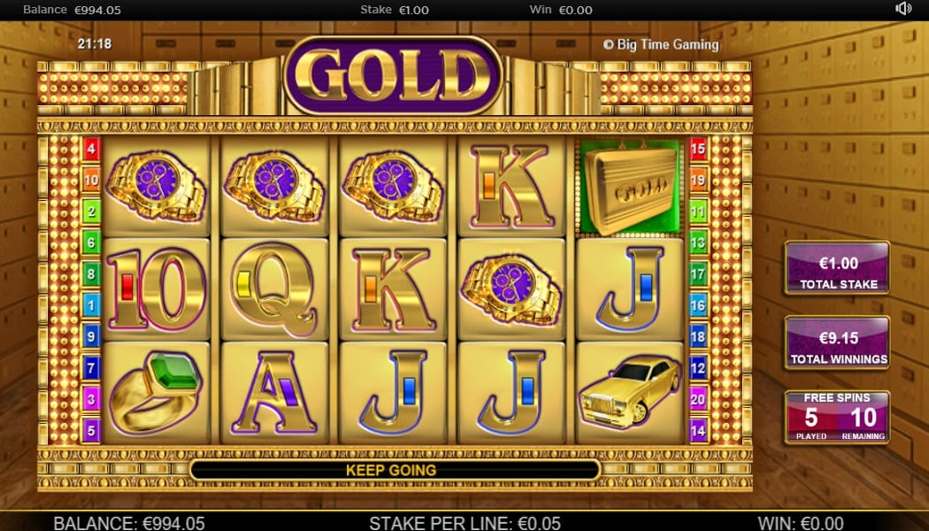 Gold Slots Casino Game