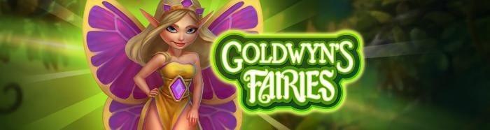 Goldwyn's Fairies Slot Logo Mega Reel