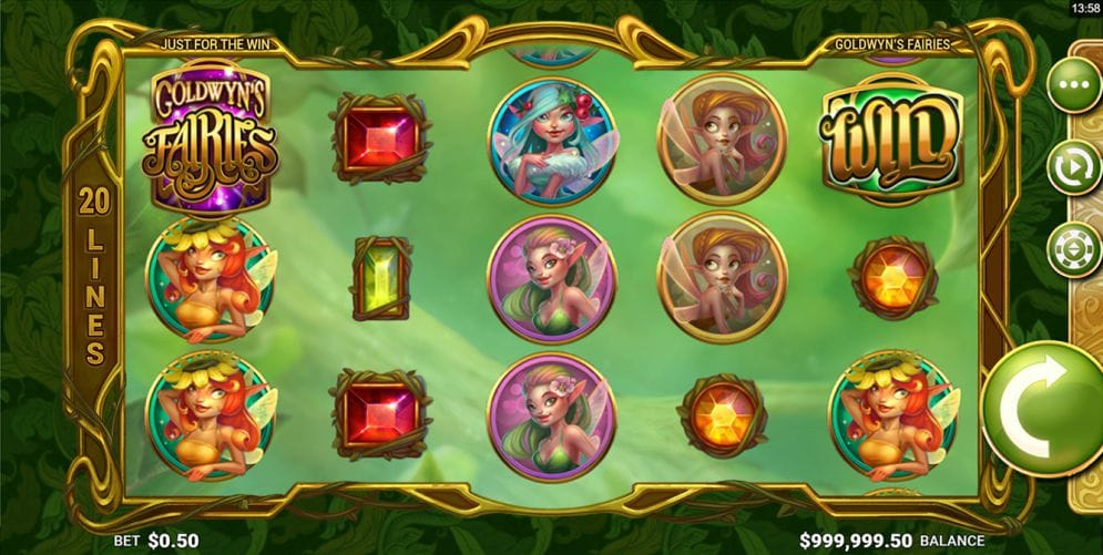 Goldwyn's Fairies Slot UK Game Play