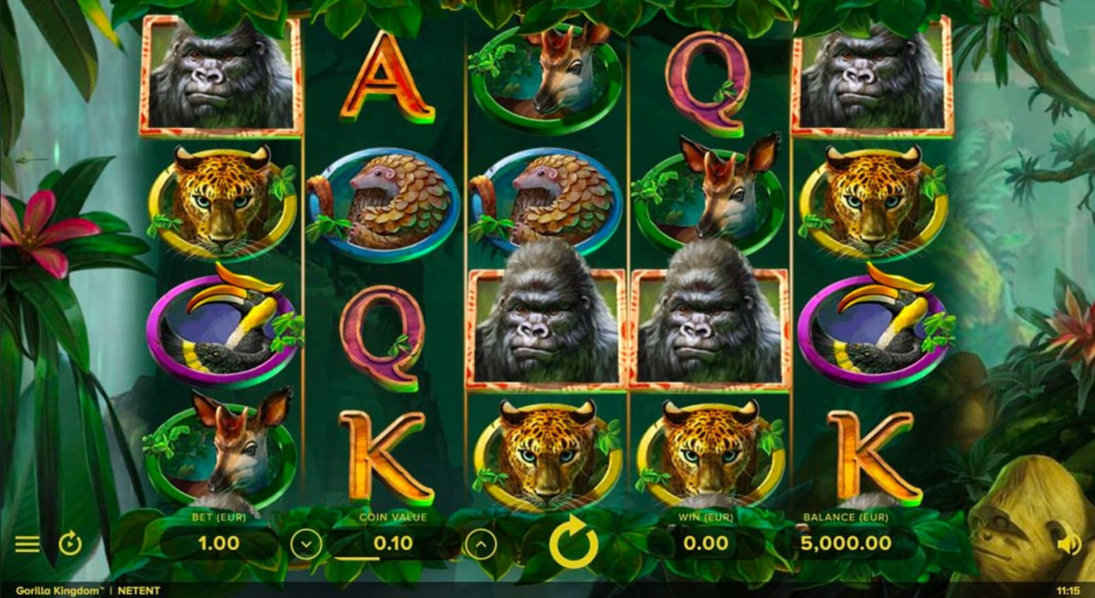 Gorilla Kingdom Slot Games Play