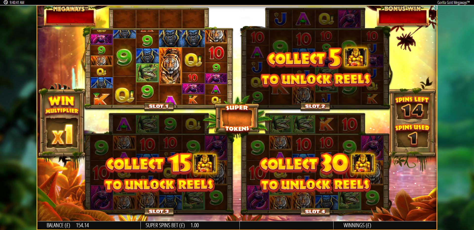 Gorilla Gold MegaWays Casino Game