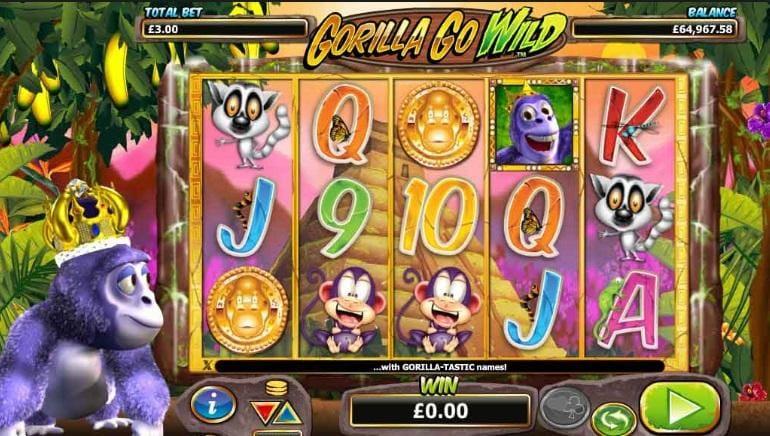 Gorilla Go Wild Slot UK