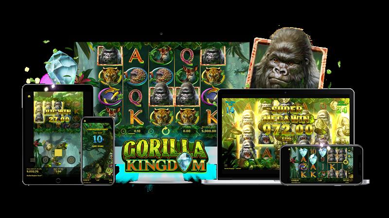 Gorilla Kingdom Mobile Slots