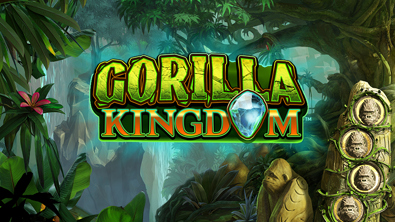 Gorilla Kingdom Slot Logo Mega Reel