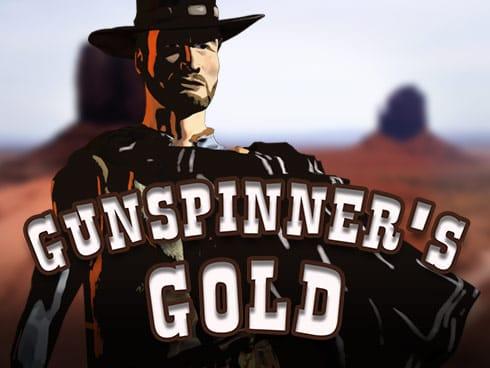 Gunspinner's Gold Slot Logo Mega Reel
