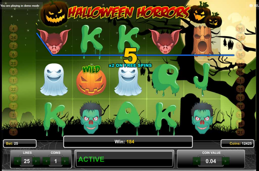 Halloween Horros Slot Game Play