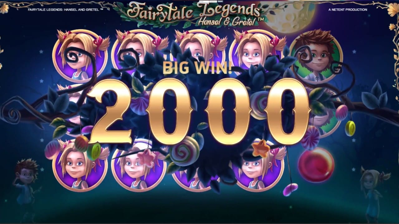 Fairytale Legends: Hansel and Gretel Big Win Slot