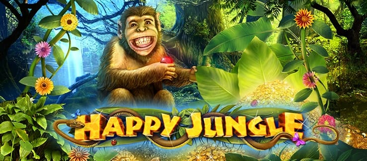 Happy Jungle Deluxe Slot Mega Reel