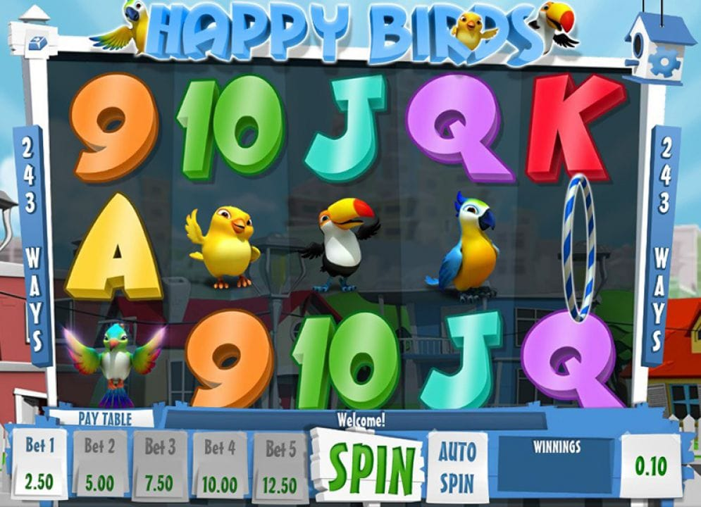 Happy Birds Slot Casino Game