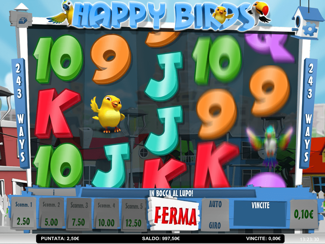 Happy Birds Slot UK Game