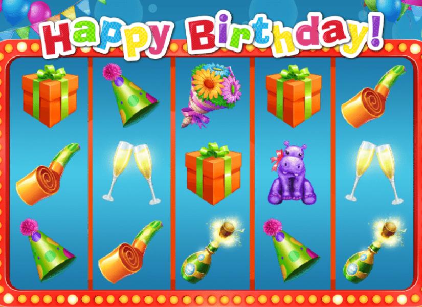Happy Birthday Casino Game UK