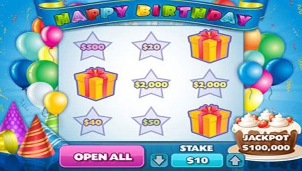 Happy Birthday Jackpot Casino Game