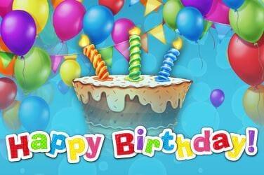 Happy Birthday Jackpot Slot Mega Reel