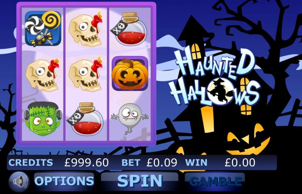 Haunted Hallows Slot UK Game Play