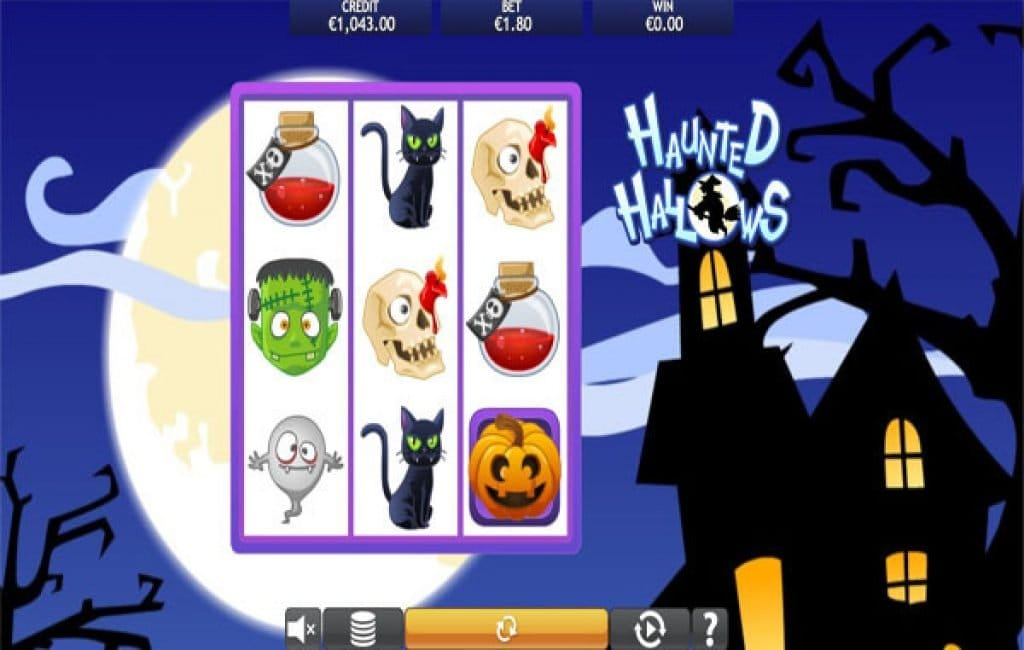 Haunted Hallows Casino Game Play