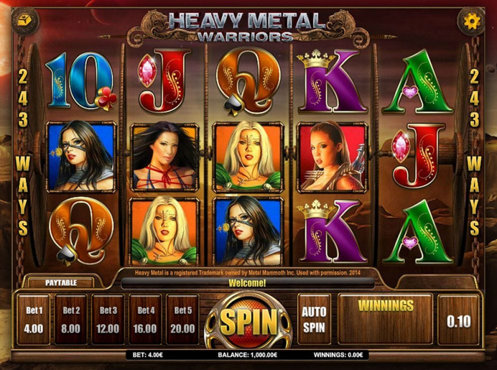 Spiele Heavy Metal - Video Slots Online