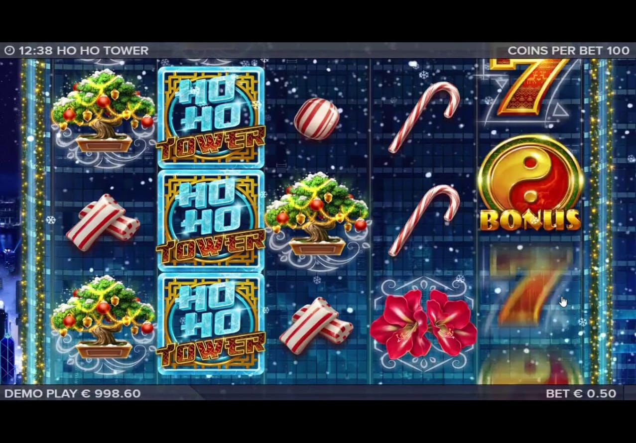 Ho Ho Tower Slot UK Game Play