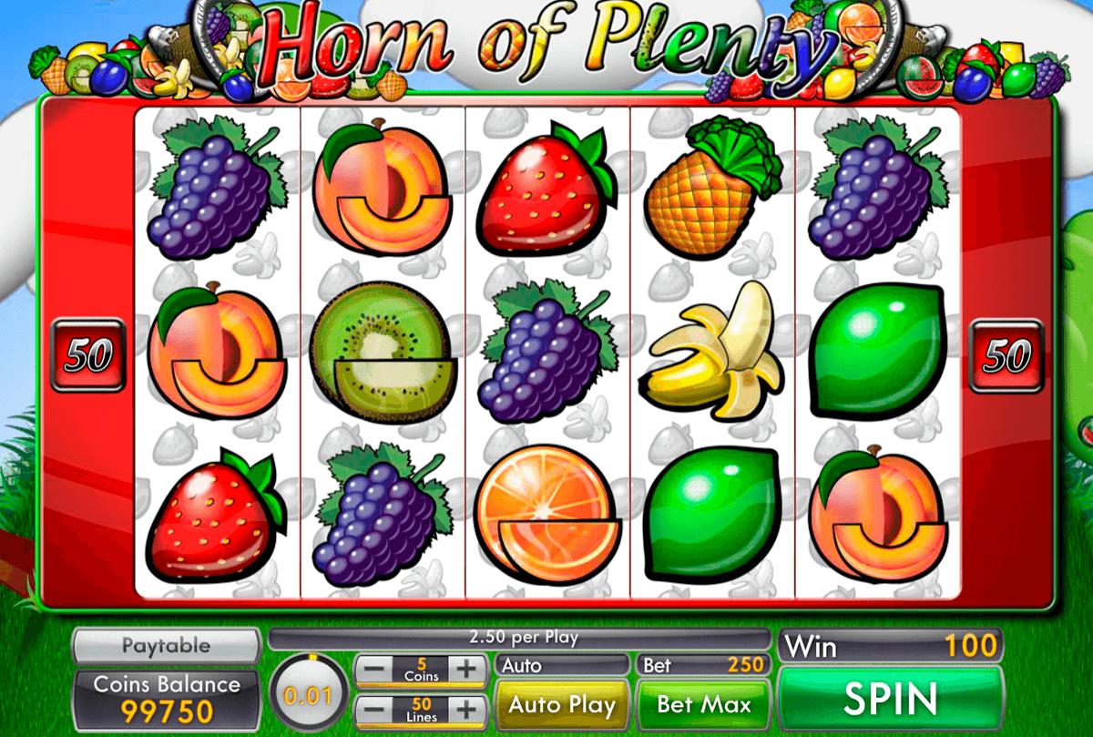 Horn of Plenty Slots Reels