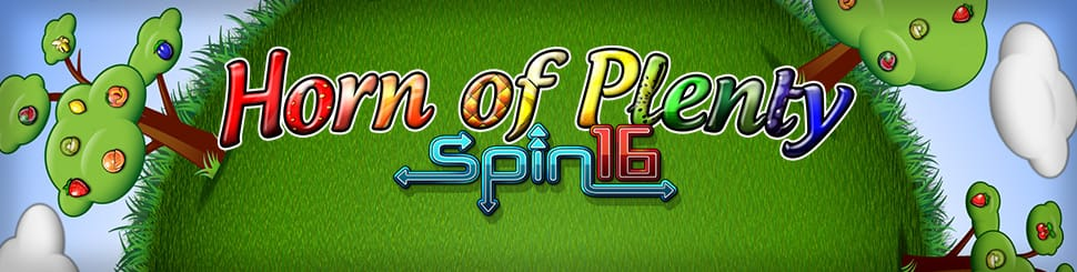 Horn of Plenty Spin 16 Slot Mega Reel