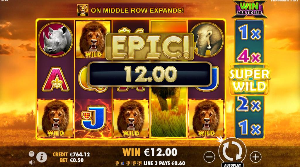 Hot Safari Casino Game