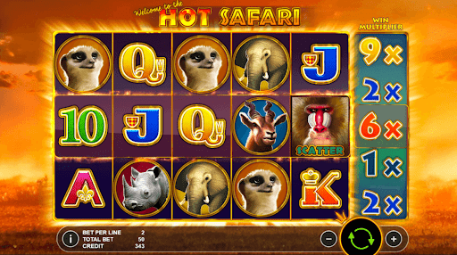 Hot Safari Slot UK Casino