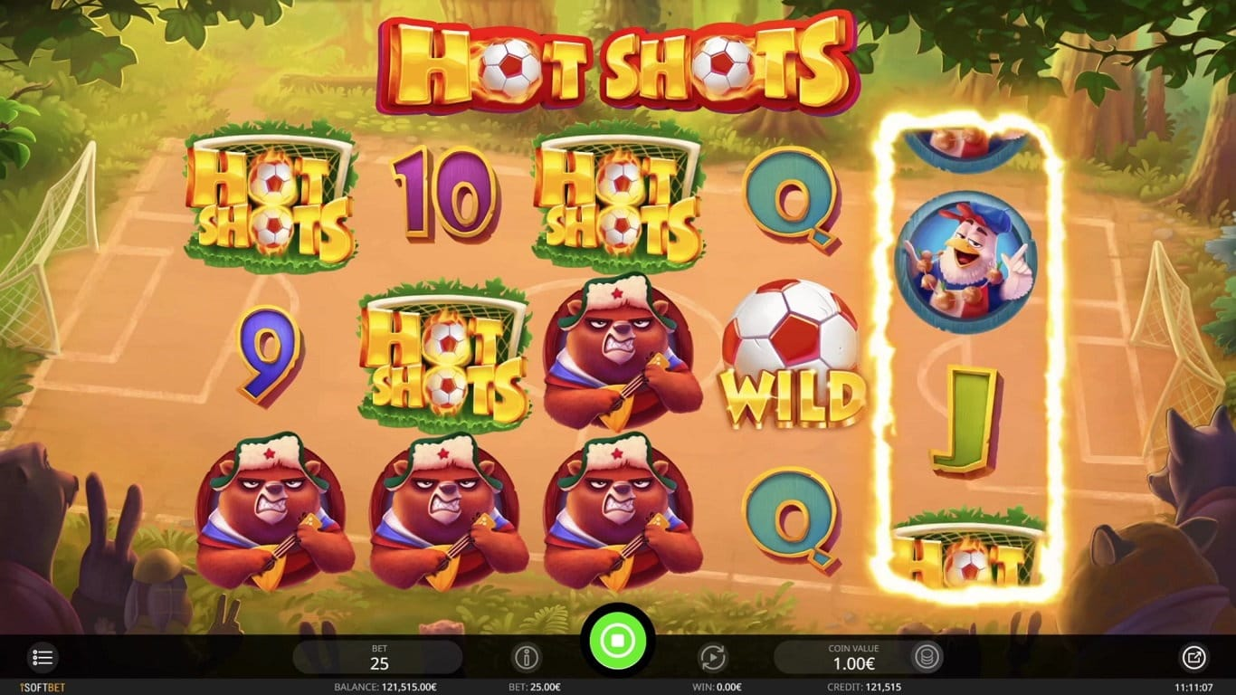 Hot Shots Slot Casino Game Play