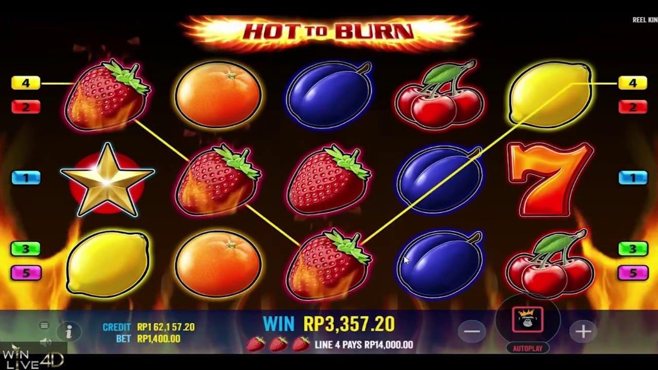 Hot to Burn Slot Online