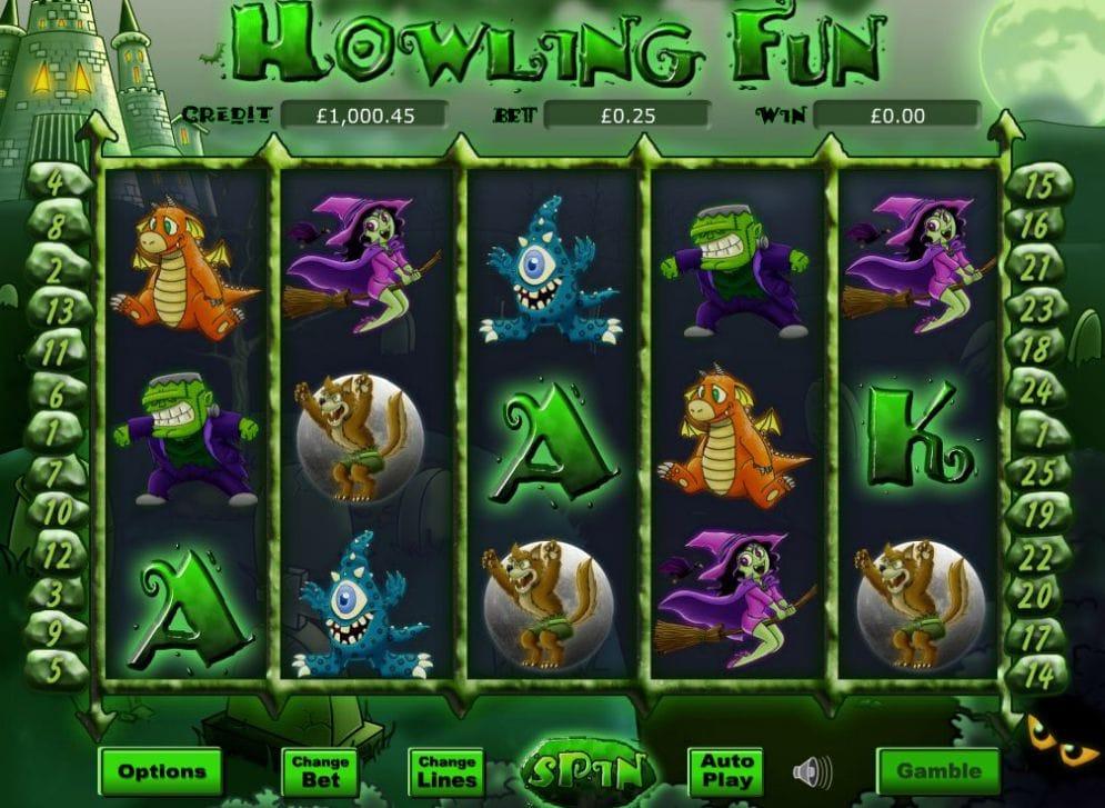 Howling Fun Slot Casino Game