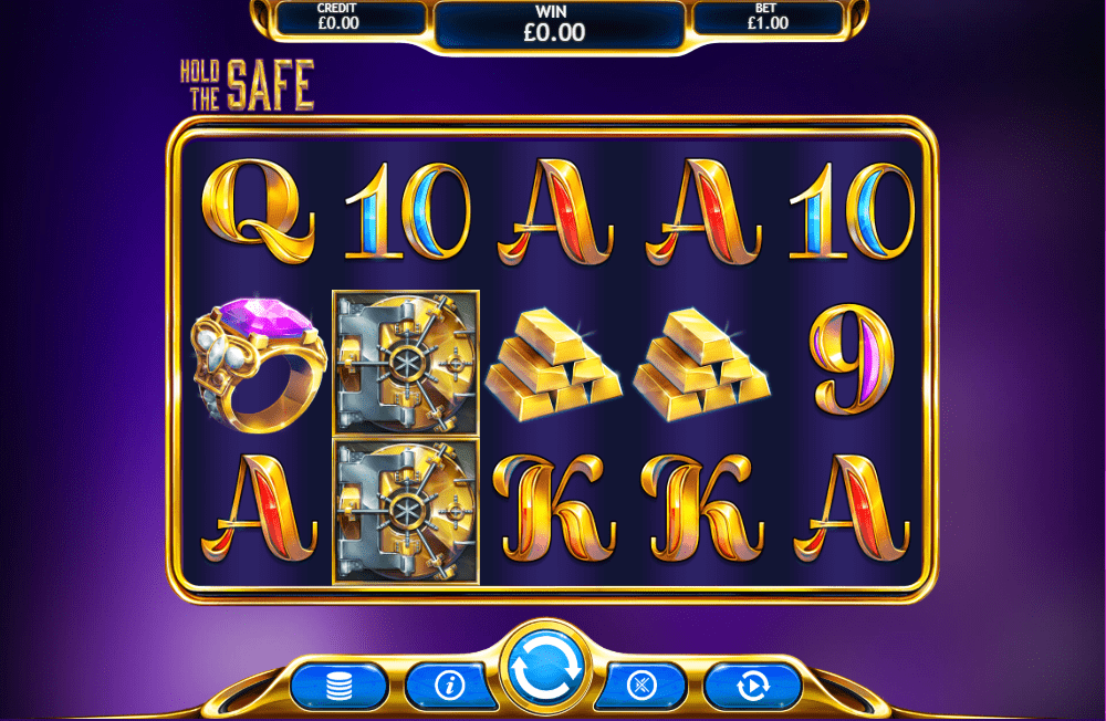 Hold The Safe Jackpot Gameplay
