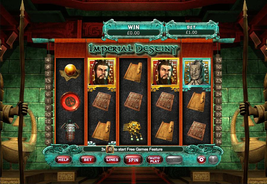 Imperial Destiny Slot UK Casino