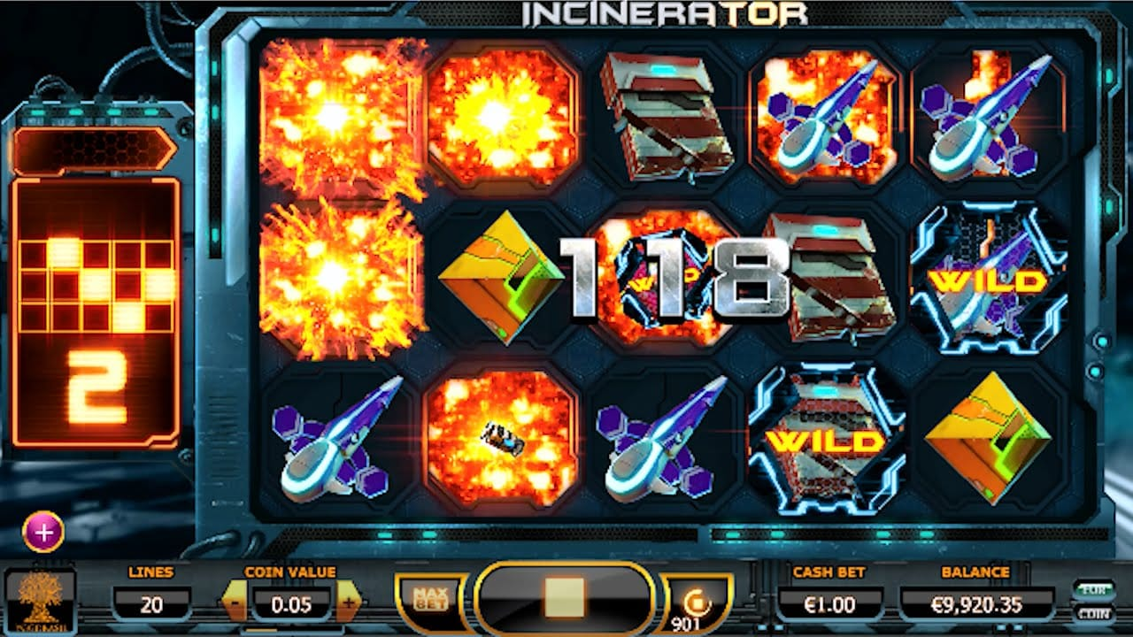 Incinerator Casino Game Online