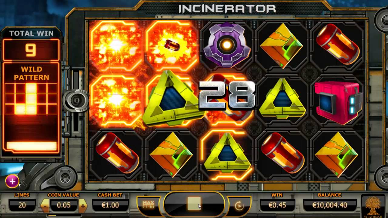 Incinerator Online Slot UK