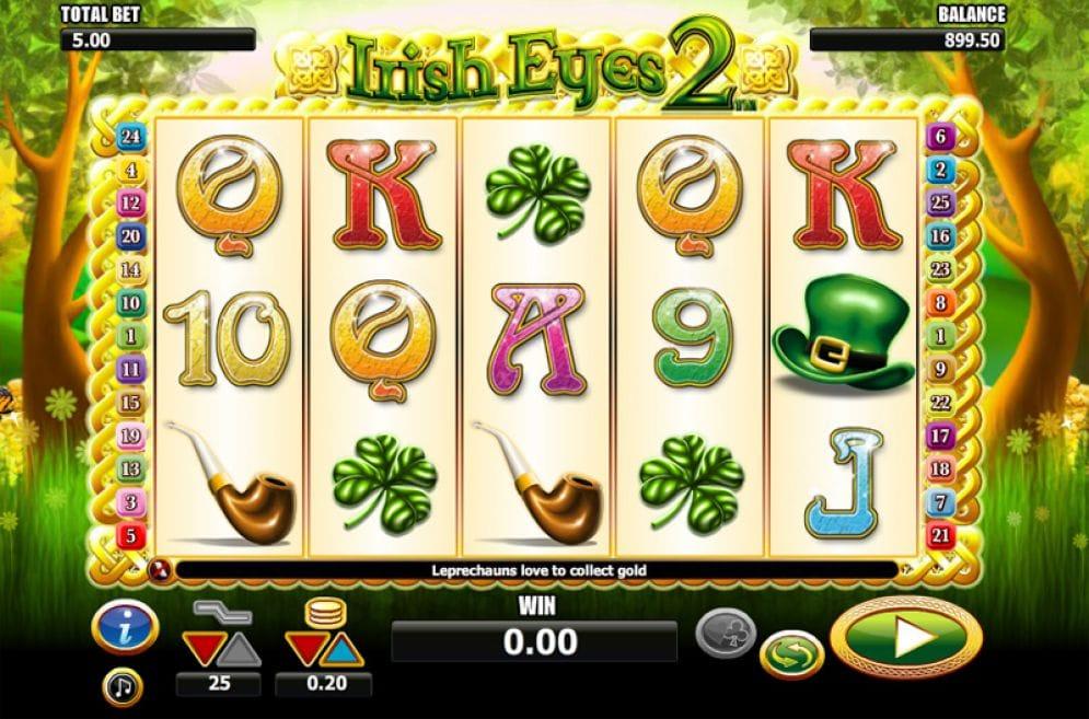 Irish Eyes 2 Slots UK Mega Reel