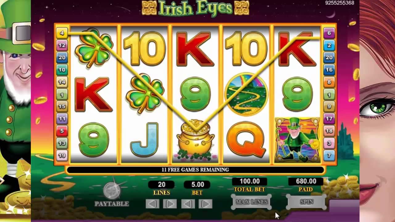 Irish Eyes Slot UK Casino