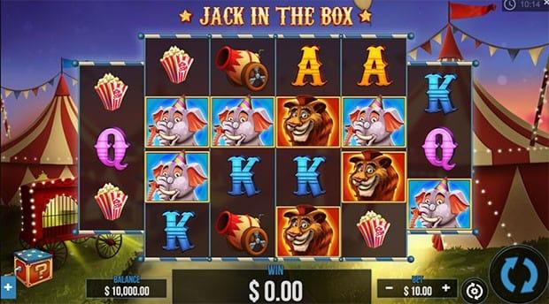 Jack in the Box Slot UK Game