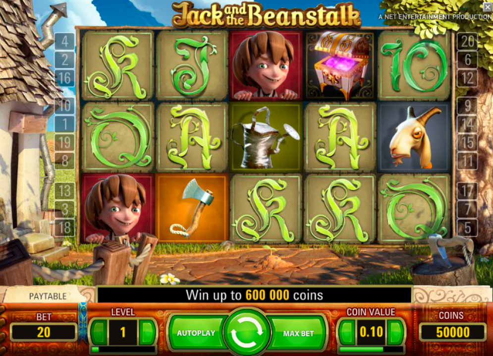 Jack and the Beanstalk Slots Game