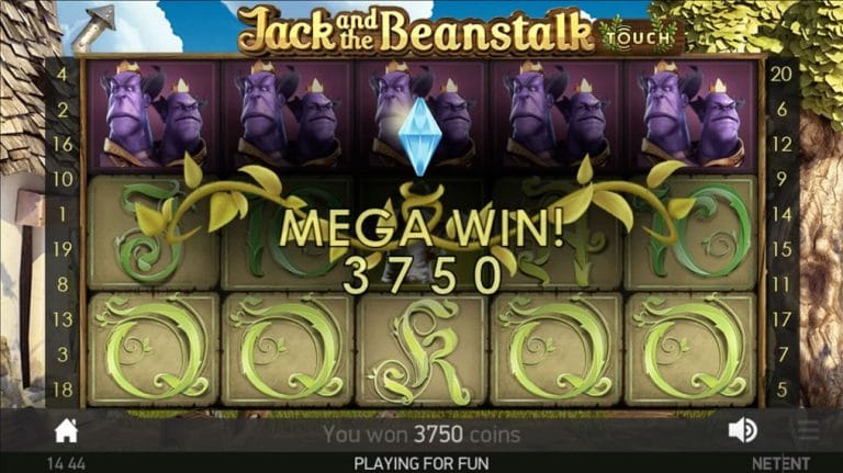 Jack and the Beanstalk Slot win
