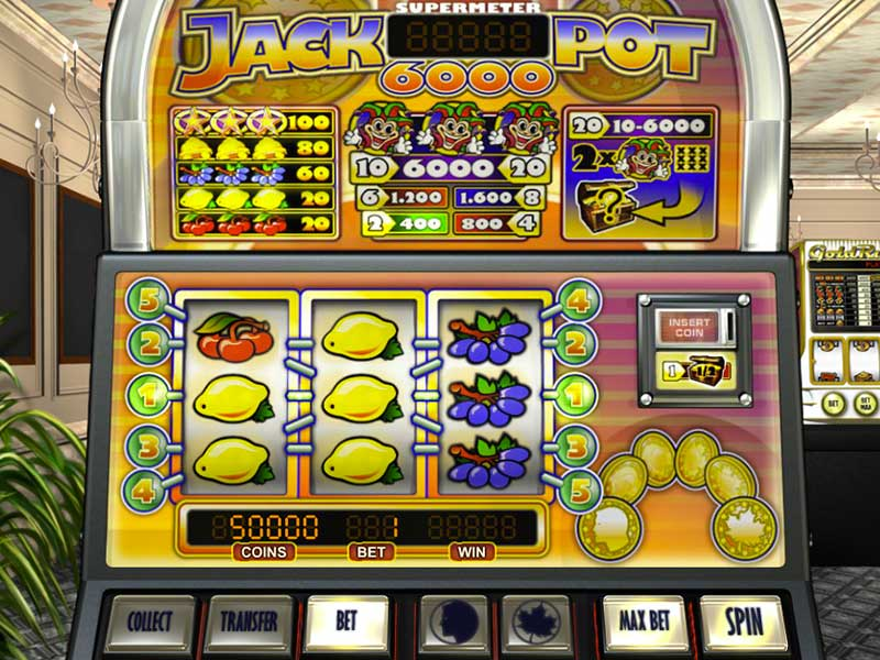 Jackpot 6000 UK Slot Game Play