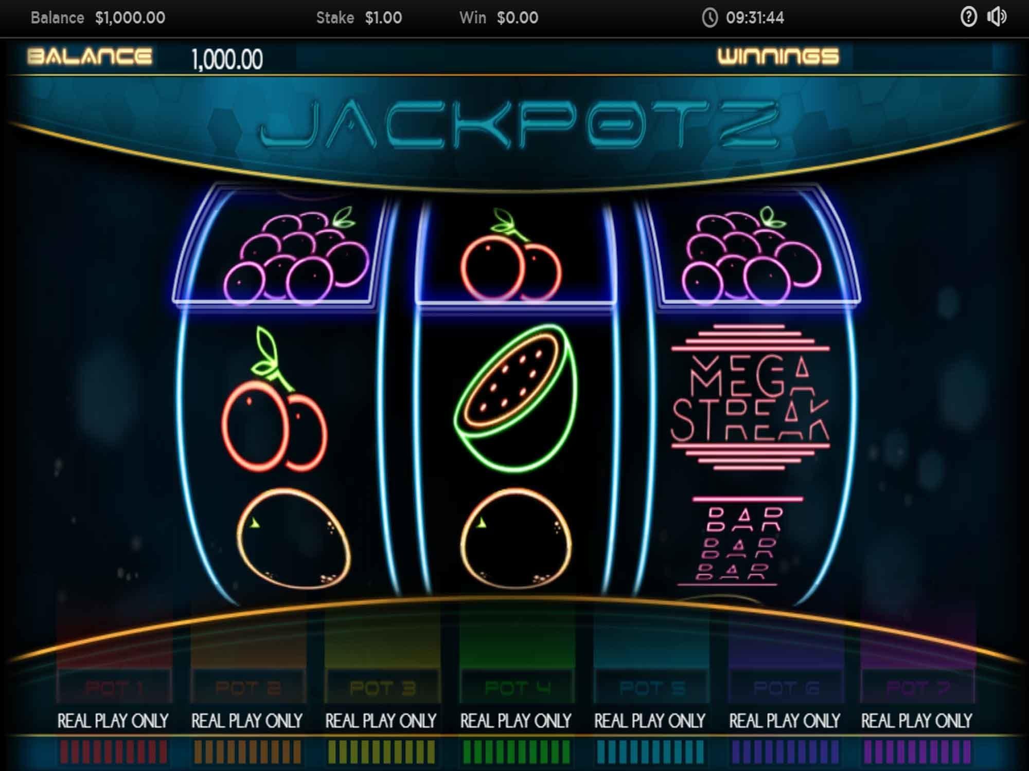 Jackpotz Slot UK Casino