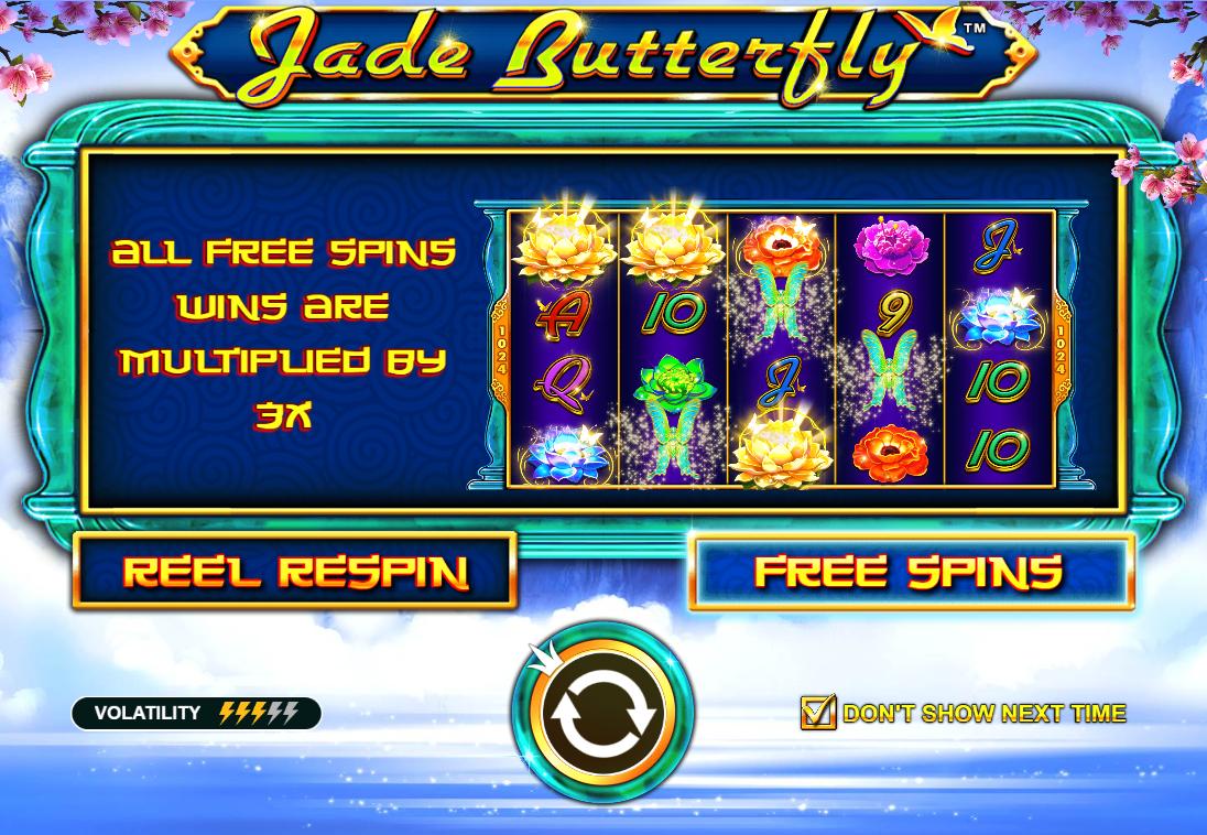 Jade Butterfly Logo