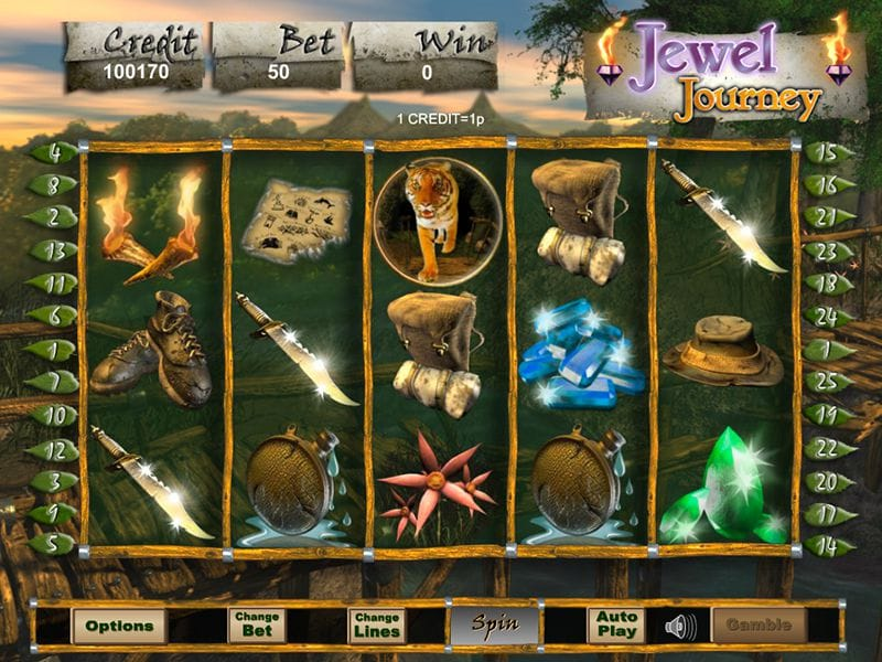 Jewel Journey Slot UK Casino