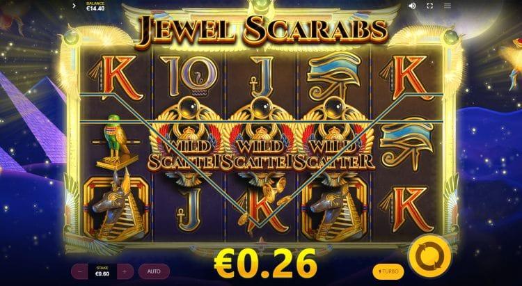 Jewel Scarabs Slot Online