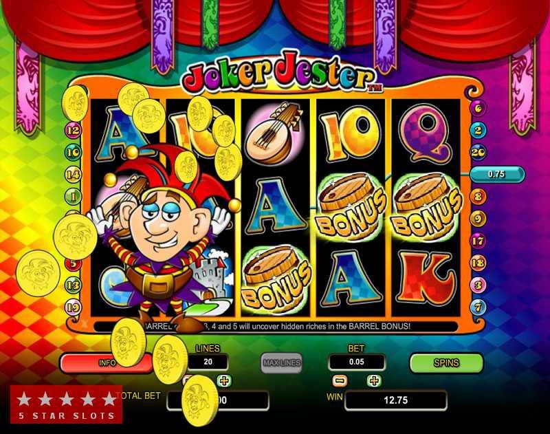 Joker Jester Casino Game Big Win