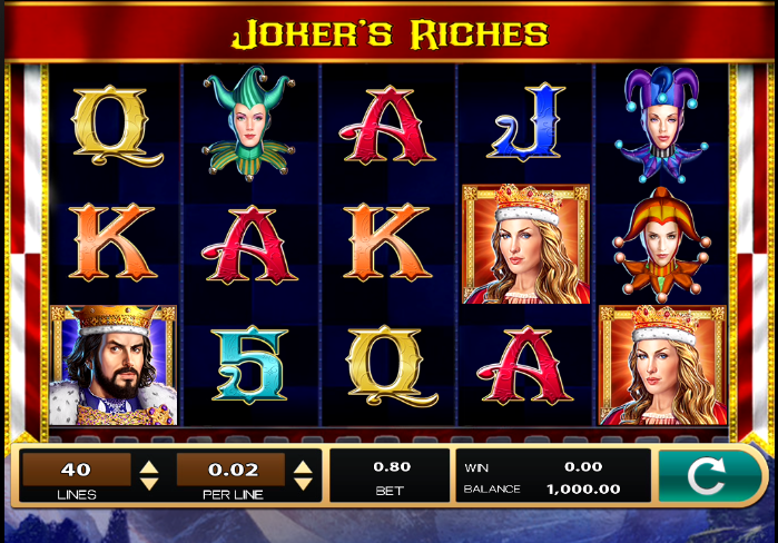 Joker's Riches Slots