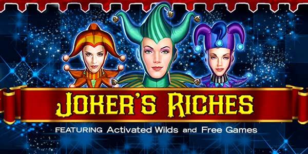 Joker's Riches Slots Mega Reel