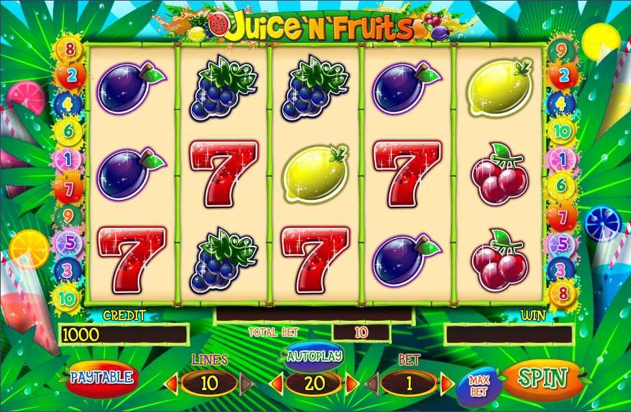 Juice'n'Fruits Slot Online Casino