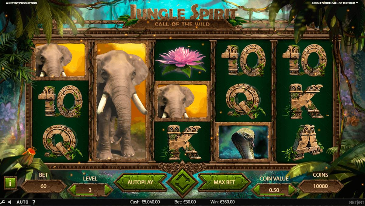 Jungle Spirit Slots Casino Game