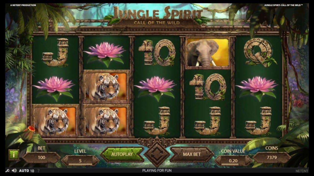 Jungle Spirit Slots UK Casino
