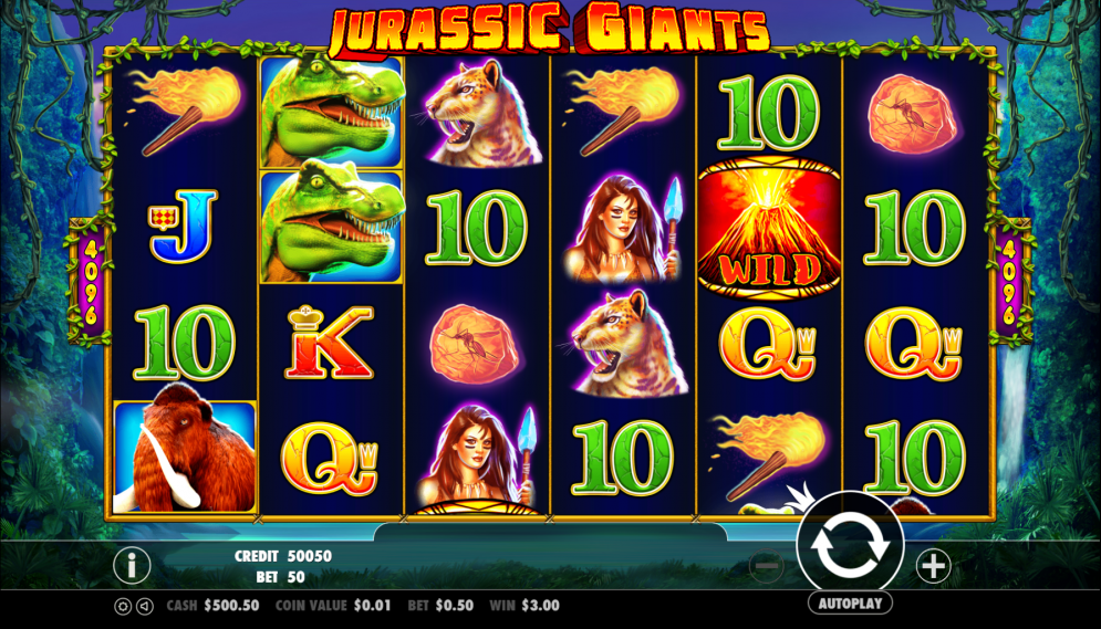 Jurassic Giants Slots UK Casino