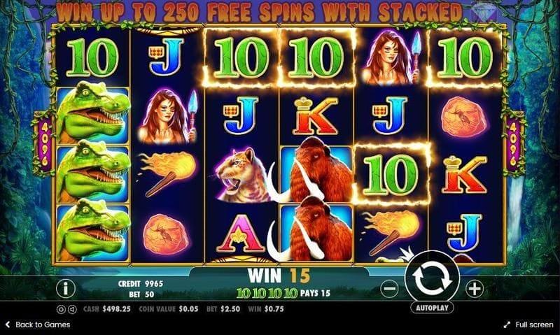 Jurassic Giants UK Casino Game